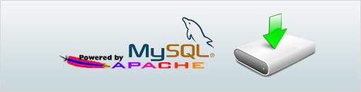 隨身版Apache與MySQL