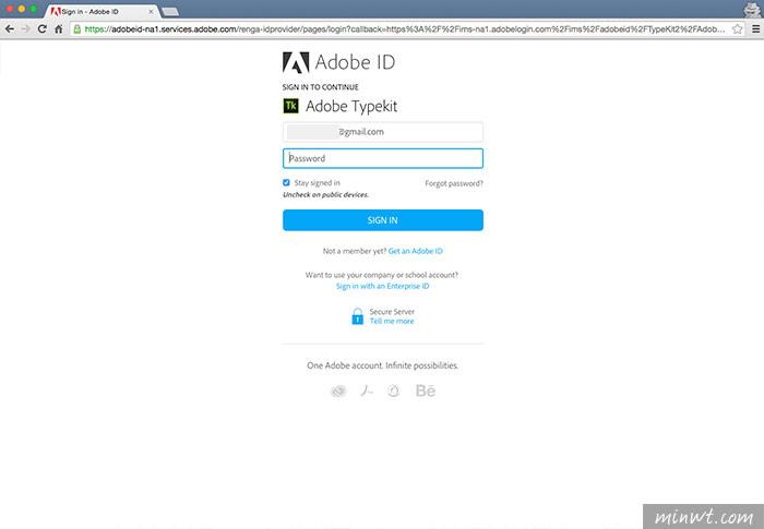 梅問題-《Adobe Typekit》有了Adobe雲端字型,讓網頁不再只有新細明體