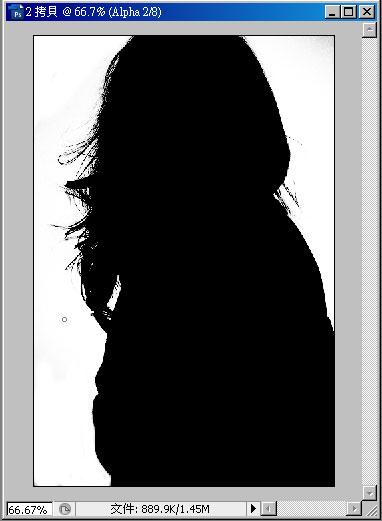 梅問題-photoshop教學-消除髮絲去背後的白邊