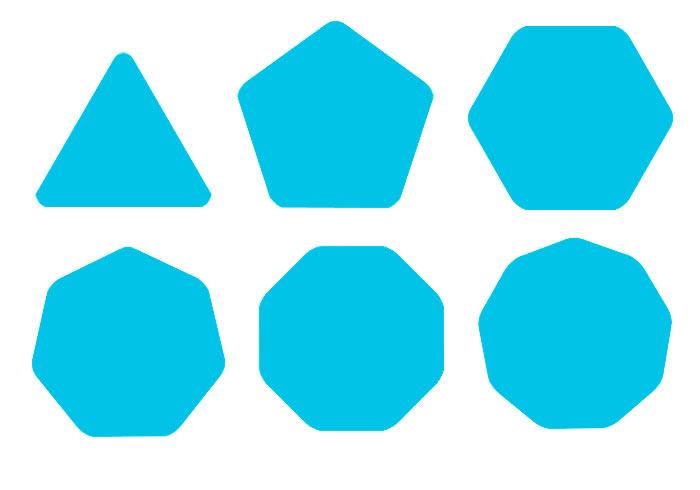 [教學] Photoshop免外掛!內建就可繪製出圓角多邊形