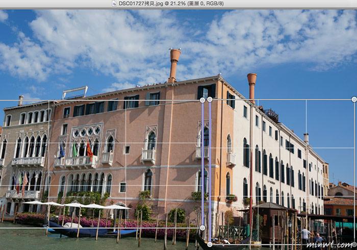 梅問題-Photoshop教學-「透視彎曲」數位蛇腹修正廣角鏡拍攝的透視變形