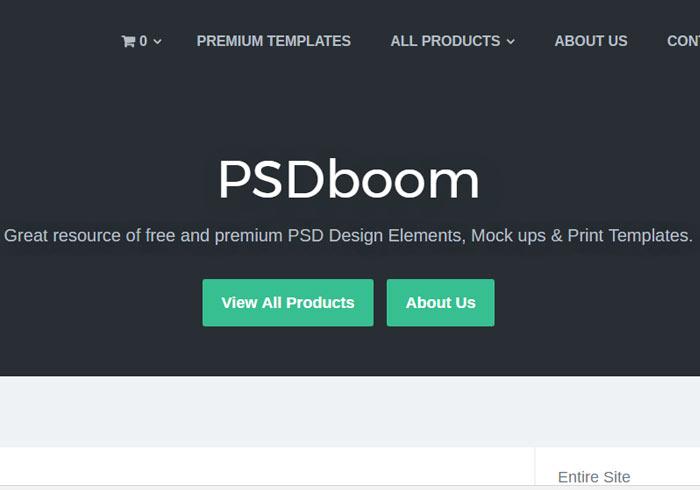 [素材] PSDboom 提供(圖示、背景、按鈕、LOGO)各種免費PSD素材下載