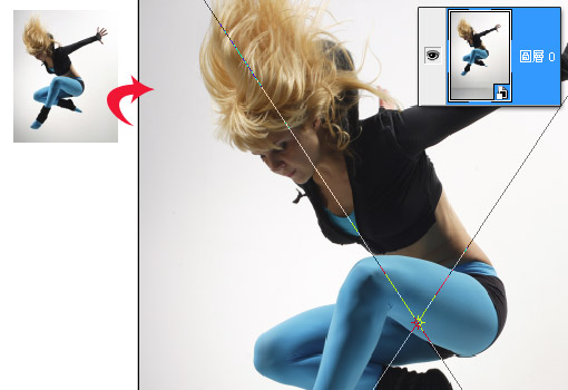 梅問題-Photoshop教學-利用智慧型圖層任意縮放影像永不失真