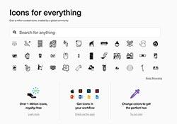 Noun Project 超過150,000 個有設計感的圖示免費下載