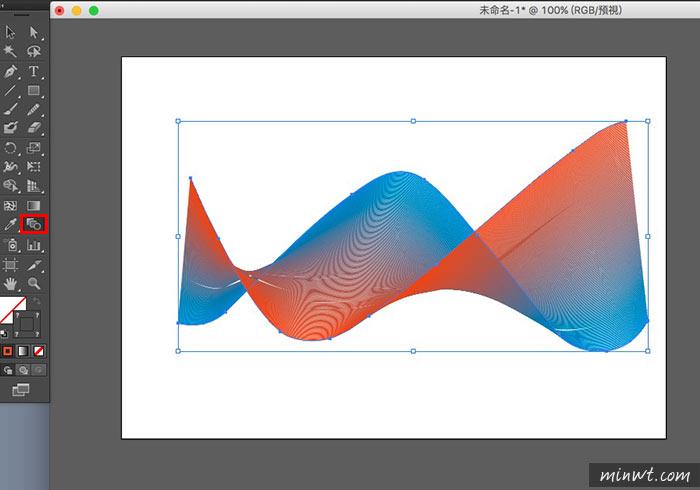 梅問題-[教學]利用Illustrator繪製出動感波浪曲線科技背景