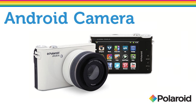 梅問題-全球首台Android智慧型微單《Polaroid iM1836》
