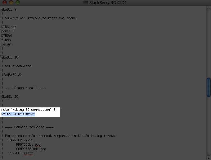梅問題-BlackBerry教學-將BlackBerry分享3.5G行動網路給MAC使用