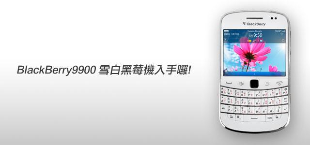 梅問題-blackberry9900黑莓機入手