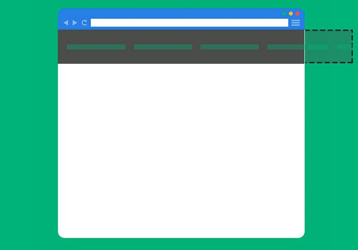 [教學] Bootstrap 導覽列選單太長時,可左右滑動切換選單並支援子選單