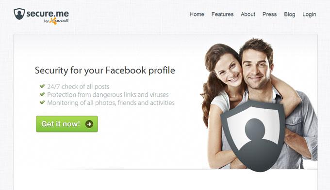 《Secure.me》臉書帳號安全檢測器,遠離病毒與惡意連結之苦