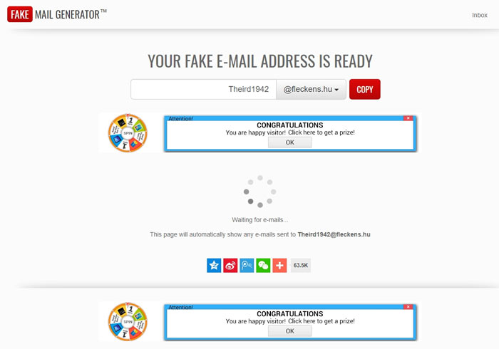 10 Best Free Fake Email Address Generator Tools