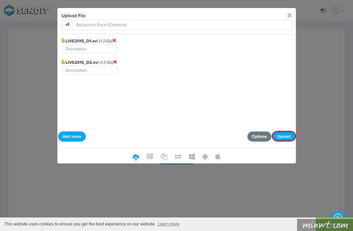 梅問題-Sendit.Cloud—上傳檔案免費空間,可放7天不限檔案大小