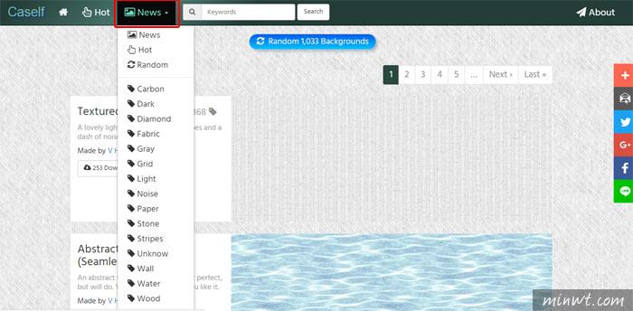 梅問題-Caself 免費1,000款四方連續的紋理背景圖下載