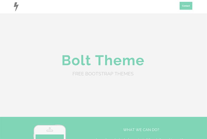 梅問題-15款可商用Bootstrap自適應網頁版型下載