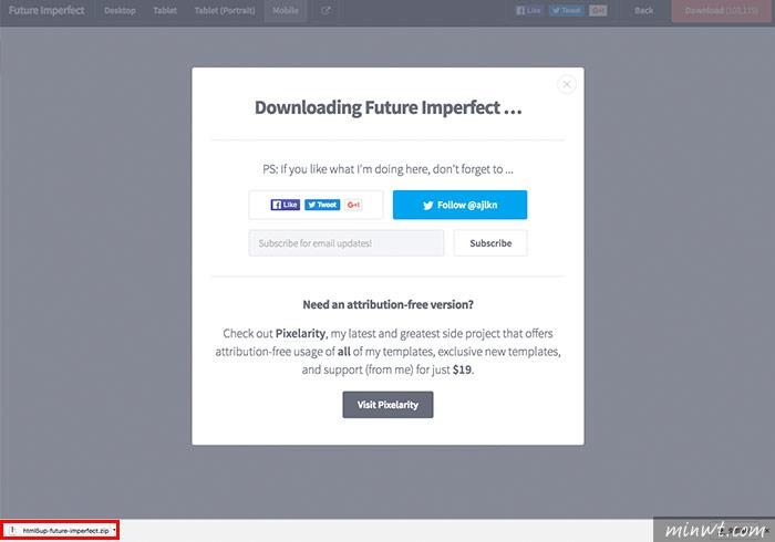 梅問題-「HTML5 UP」高品質可商用的RWD自適應版型免費下載