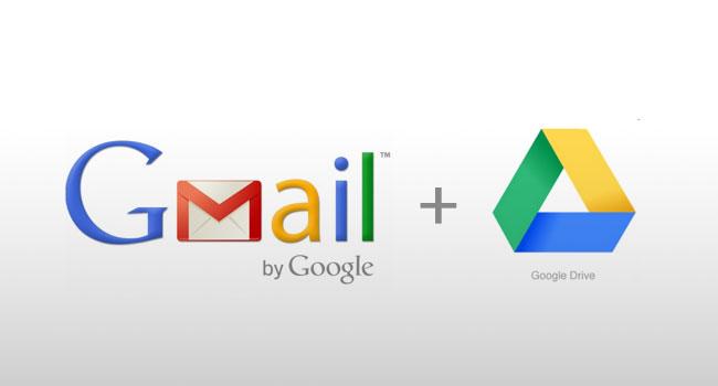 Gmail整合Google Drive附件夾檔上限為10G