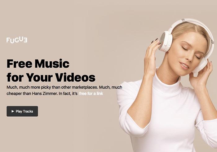 Icons8 Fugue除了提供免費圖示,現在還提供免費音樂素材下載