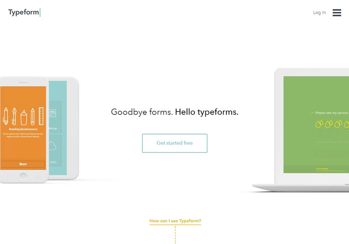 梅問題-線上問卷表單新選擇!Typeform 讓填寫表單不再像寫考卷一樣