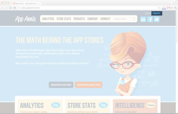 梅問題-iPhone開發教學-AppAnnie追踨分析APP世界各地銷售狀況