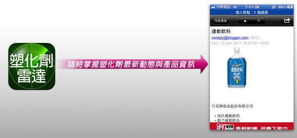 梅問題-iPhone應用程式-隨時掌握塑化劑的最新動態與資訊