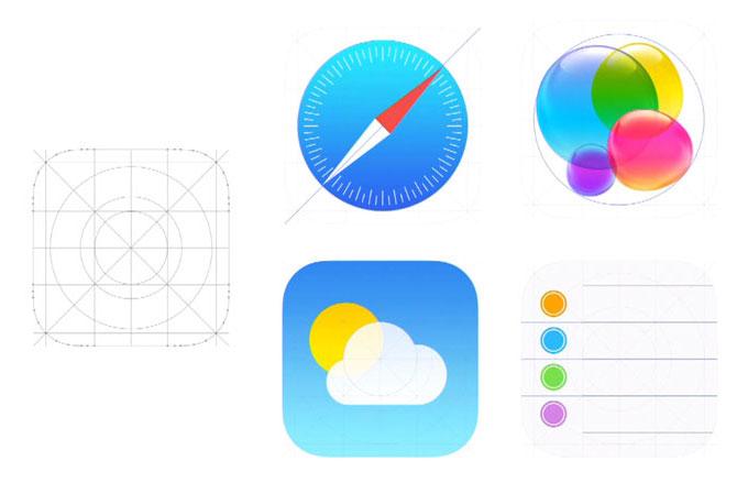 梅問題-iOS7 化繁為簡 Flat UI 平面化圖示新界面嶄新操控