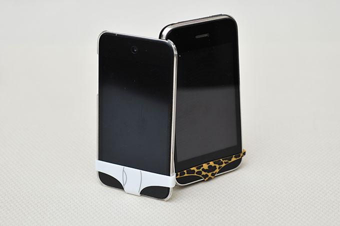 梅問題-iPhone週邊-iPhone性感豹紋小YG到手