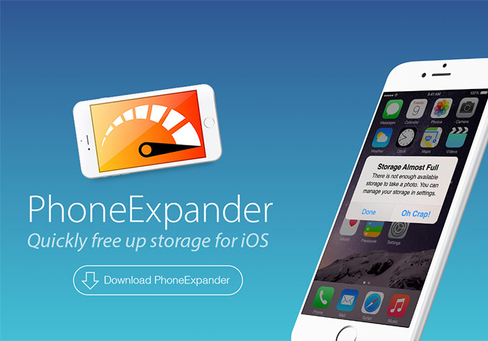 《PhoneExpander》iPhone大掃除!!清除暫存解決空間不足