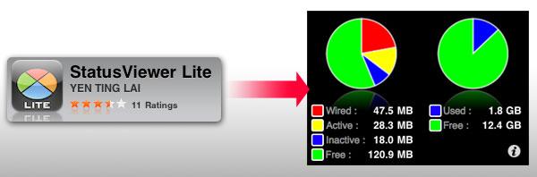 梅問題-iphone無料程式-statusviewer記憶體狀態管理