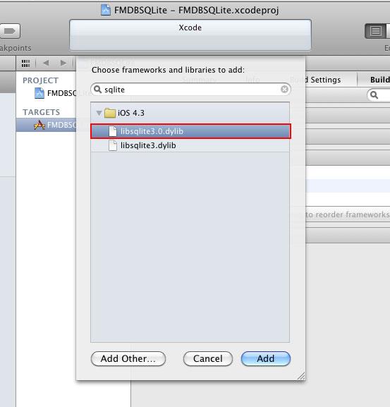 梅問題-應用程式開發-透過FMDB輕鬆使用SQLite