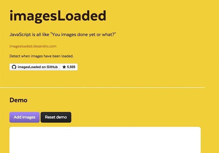 jQeury外掛「imagesLoaded」解決瀑布流圖片未載入完造成區塊覆蓋問題