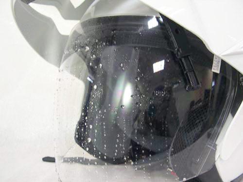 梅問題-生活小物-WIPER HELMET遙控雨刷安全帽雨再大也不怕