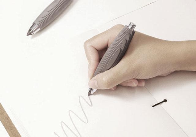 梅問題-梅生活-生活小物-《水泥酷》用水泥做的筆才夠酷!
