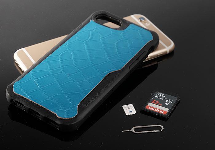 [DIY] 手作iPhone三合一 (SD、SIM、插針) 收納真皮保護殼,外出再也不怕忘了帶記憶卡