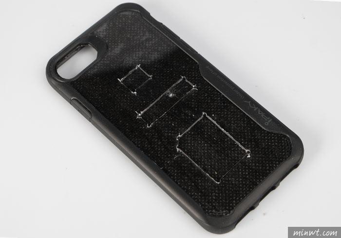 梅問題-[DIY]手作iPhone三合一(SD、SIM、插針)收納真皮保護殼,外出不怕再忘了帶記憶卡