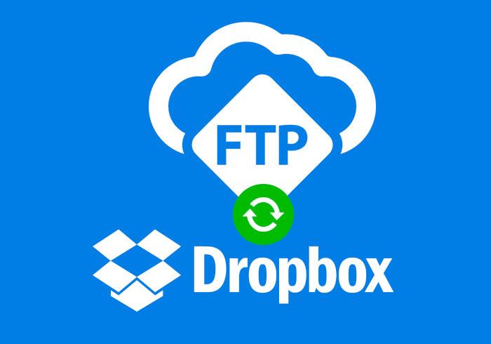 將Dropbox中的檔案,同步到FTP指定資料夾