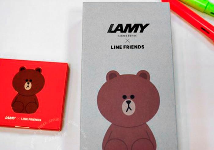 [開箱] 來韓國必敗!LAMY X LINE FRIENDS 熊大鋼筆@釜山樂天百貨(南浦)