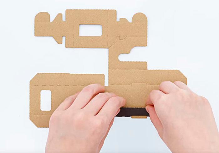 Nintendo Switch 官方推出紙模,善用瓦楞紙板,打造周邊配件省錢又環保