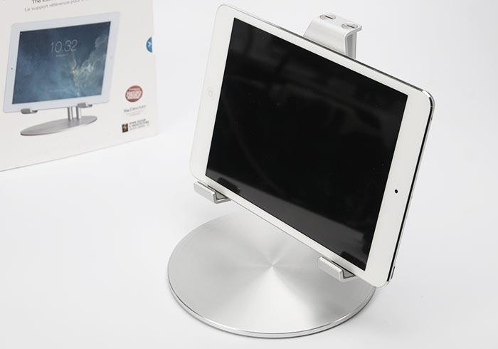 玩命關頭8也愛的Just Mobile UpStand iPad細緻的鋁質立架