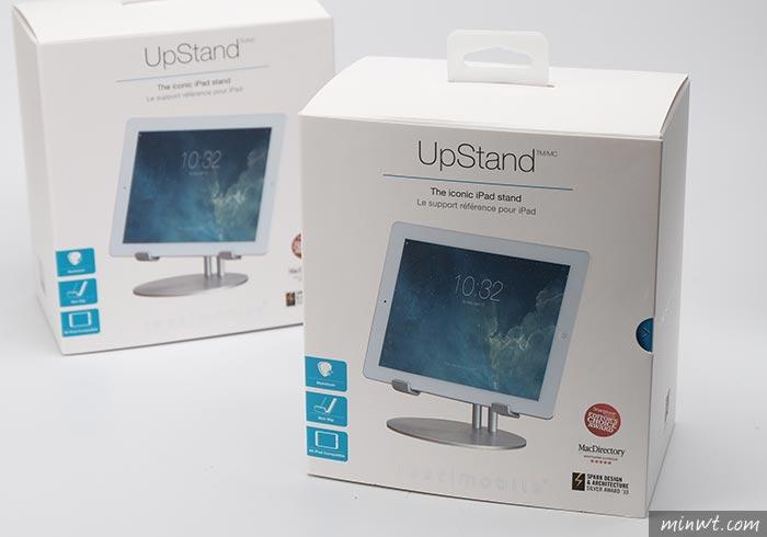 梅問題-玩命關頭8也愛的Just Mobile UpStand iPad細緻的鋁質立架