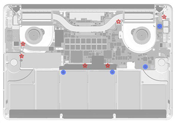 梅問題-MAC小知-新版Macbook Pro暗藏了10個防溼感應器