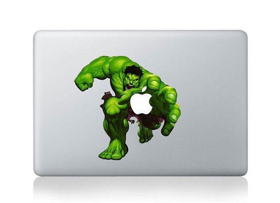 梅問題-生活小物-復仇者聯盟Macbook造型貼