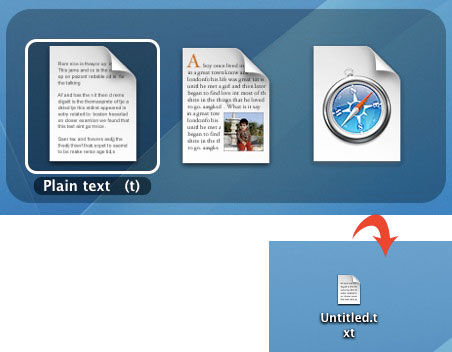 梅問題-MAC教學-DocumentPalette讓MACOSX新增純文字TXT檔