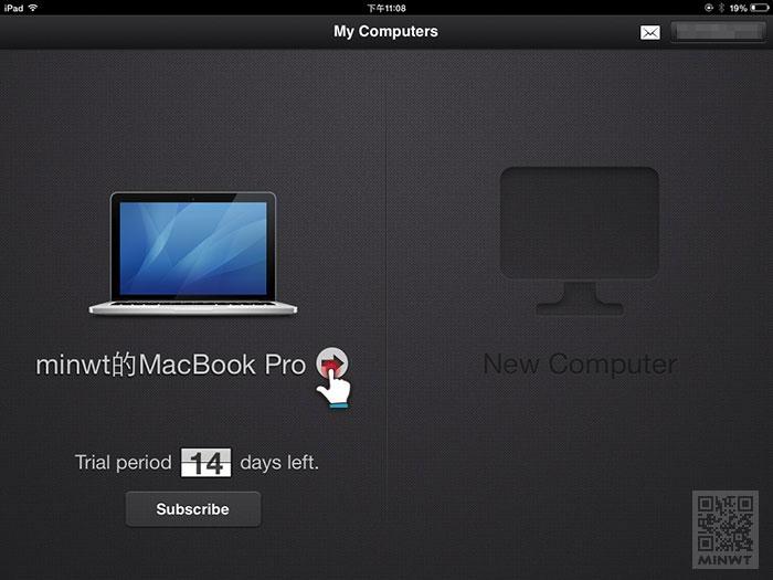 梅問題-「Parallels Mobile」讓iPad上也可執行MAC上的軟體