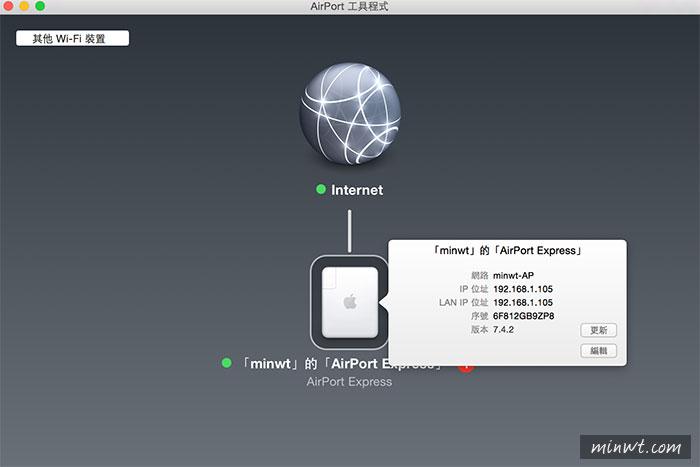 梅問題-《Apple Airport Express》讓舊喇叭變成WIFI無線喇叭
