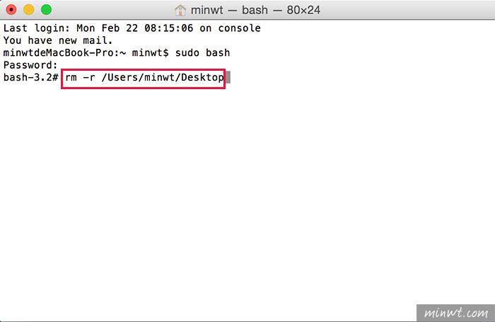 梅問題-將MAC桌面、文件資料夾移至外接隨身碟,空間變更大