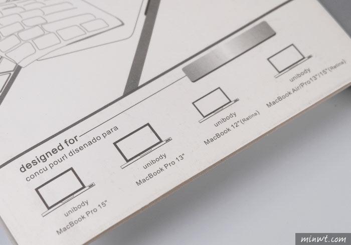 梅問題-[開箱] Macbook專用的鍵盤膜CrystalGuardMB,不但有注音、倉頡還有功能提示