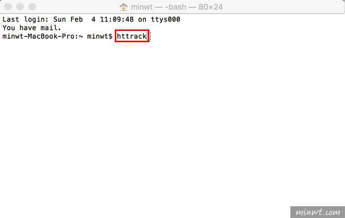 梅問題-[MAC]HTTrack Website Copier砍站軟體!移植到MAC平台與使用方法