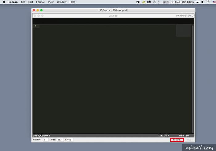 梅問題-LICEcap支援雙平台螢幕錄影軟體並儲存為GIF格式