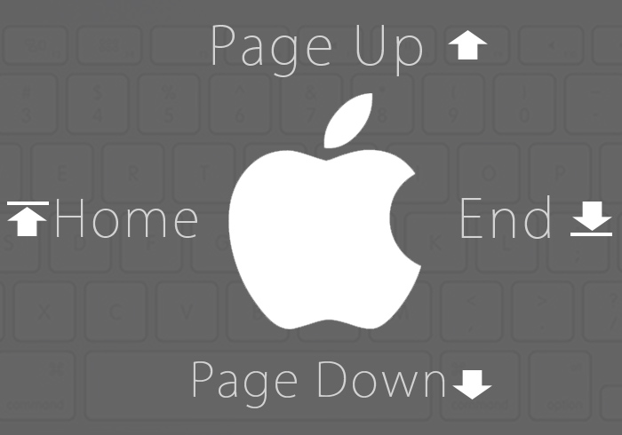 《MAC教學》MAC不可不知Page Up、Page Down、Home、End鍵按法