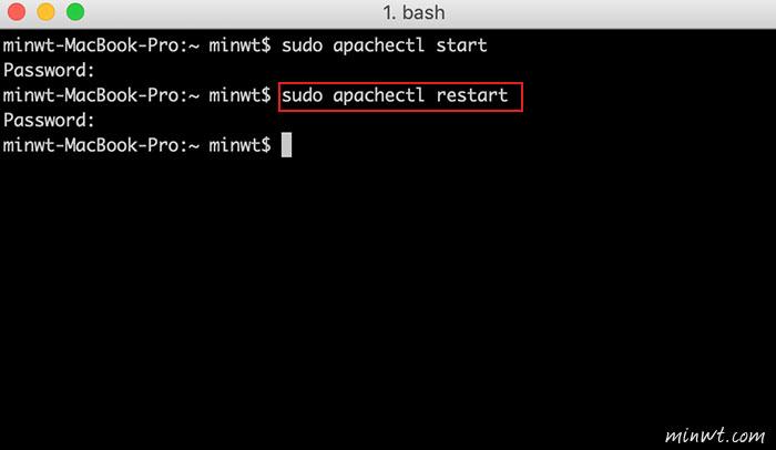 梅問題-[教學] macOSX 開啟內建 Apache 網站伺服器與PHP環境設定